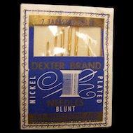 Tapestry Needles Blunt Dexter