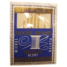 Tapestry Needles Blunt Dexter