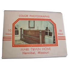 Mark Twain Color Photo Post Cards Pack Birthplace
