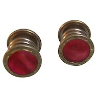 Tisco Sepa Rose Mother of Pearl Snap  Cufflinks