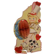 Honeycomb Large Valentine Card Drum Majorette