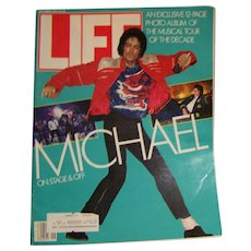 Life Magazine September 1984 Michael Jackson Tour of Decade