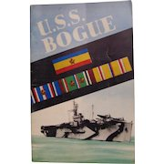 U.S.S. Bogue Cruise Book World War 2