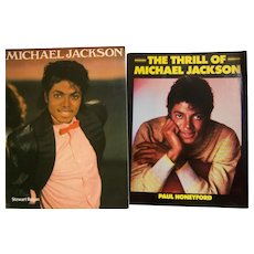 Michael Jackson Stewart Regan Soft Cover First English Edition The Thrill Of Michael Jackson SC 1984 First Quill Edition US