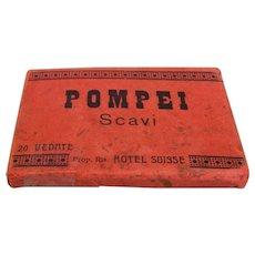 Vintage Photograph's POMPEI Scavi Prop.Ris. Hotel Suisse 20 Photograph's