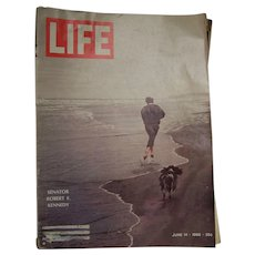 Life Magazine June 14, 1968 Robert Kennedy