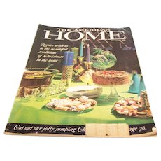 American Home Magazine December 1960