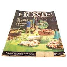 American Home Magazine December 1960