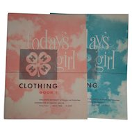 4-H Today's Girl Clothing Books  Set of 2  Iowa Extension Service