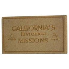 Postcards California's Historical Missions Unused