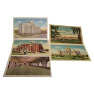 Post Cards Des Moines Iowa C.T. Art-Colortone Set of 5