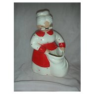 Vintage Betty Lou Nicholas Mrs Clause Planter Head Vase
