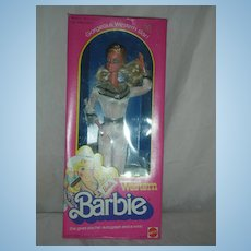Vintage Superstar Western Barbie Doll NRFB