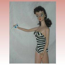 Vintage Early #4 Ponytail Barbie Doll