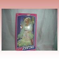 Vintage Crystal Superstar Barbie Doll Mint in Box 1980s