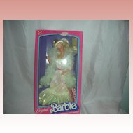 Vintage Crystal Superstar Barbie Doll Mint in Box 1980s