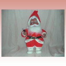 Rare Vintage Rushton Toy Corp African American Santa Claus