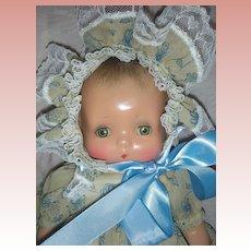 Rare Horsman Jeanie Baby Composition Doll 1930s Molded Hair
