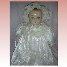 Vintage Princess Beatrix Composition Doll Compo Baby by Horsman