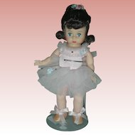 Vintage Madame Alexander 8 inch Ballerina Doll