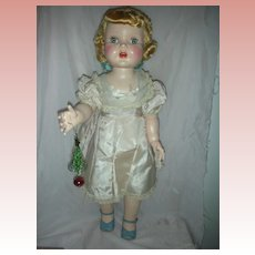 Vintage Rita Doll by Paris Doll Company 28 inch Hards Plastic Walker