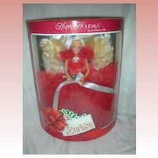 1988 Happy Holiday Christmas Barbie Doll NRFB