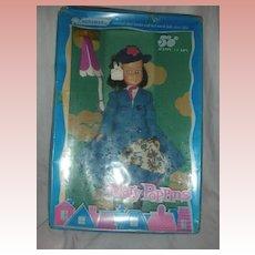 Vintage Walt Disney Mary Poppins Doll by Horsman NRFB