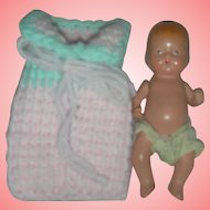 Vintage Nancy Ann Storybook Bisque Baby Doll NASB