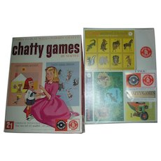 Vintage Mattel Charmin Chatty Cathy Doll Games and Record NRFB