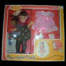 Vintage Horsman Poor Pitiful Pearl Doll Giftset NRFB