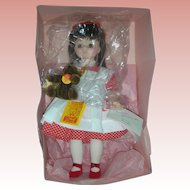 Rare Madame Alexander FAO Schwarz Brook Doll and Steiff Teddy Bear Mint in Box