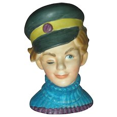 Rare Enesco Sailor Headvase Head Vase