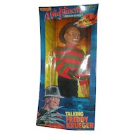 Vintage A Nightmare on Elmstreet Talking Freddy Krueger Doll NRFB