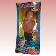 Vintage A Nightmare on Elmstreet Talking Freddy Krueger Doll NRFB