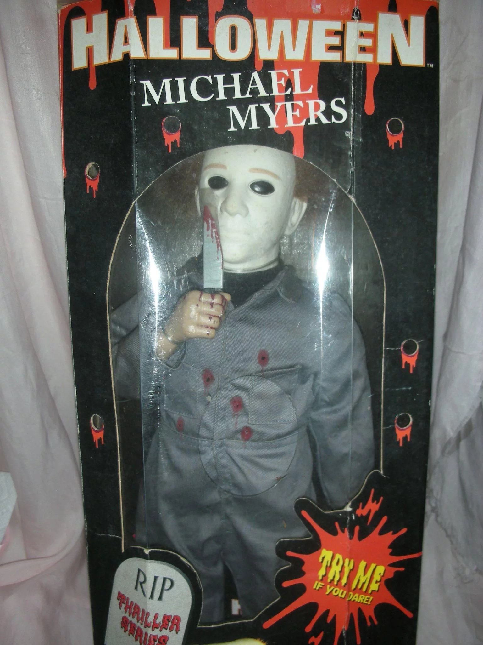 Vintage Halloween Micheal Myers Musical Halloween Movie -4345