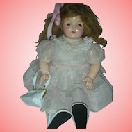 Rare Effanbee 24 Inch Composition Toddler Chubby Doll