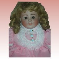 Made in Germany K&K Bisque Head Toddler Doll