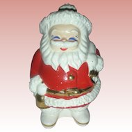 Vintage Mid Century Santa Claus Advertising Bank