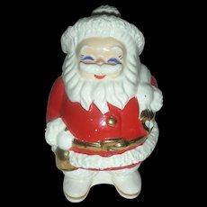 Vintage Mid Century Santa Claus Advertising Bank