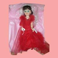 Vintage Madame Alexander Scarlett O'Hara Doll Mint in Box #2253 GWTW Red Dress