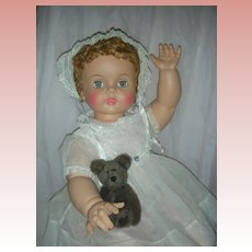 Vintage High Color Mint Ideal Suzie Play Pal Doll Companion Patti Playpal's Little Sister