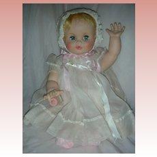 Rare Madame Alexander Baby Genius Flirty Eye Doll 21 inch