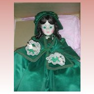 Vintage Madame Alexander Scarlett O'Hara Portrait Doll Mint in Box Gone With the Wind #2240
