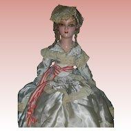 Vintage Betsy Ross Boudoir Bed Doll Flapper Doll