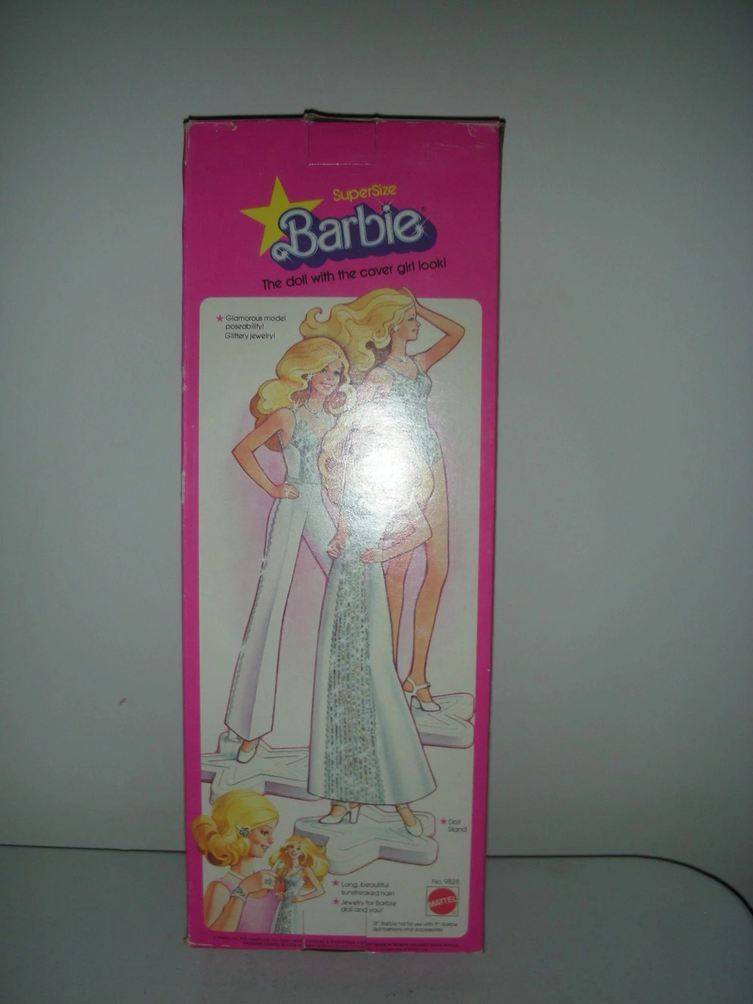 Supersize Superstar Barbie Doll Nrfb 18 Inches Tall Circa