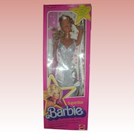 Supersize Superstar Barbie Doll NRFB 18 inches tall Circa 1976