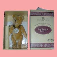 Vintage Steiff Blonde Baby Club Bear 1995 Mint in Box
