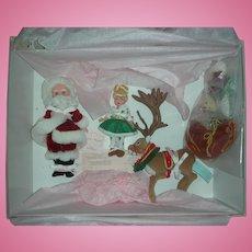 Rare Madame Alexander Santa's World Christmas Dolls in Box
