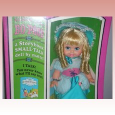 Vintage Mattel Storybook Small Talk Little No Peep Doll 1968 NRFB