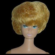 Vintage Blonde Mattel Bubblecut Barbie Doll 1960's Straight Leg